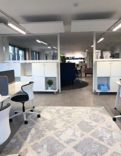 open space fix desk